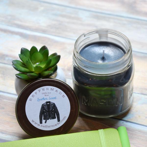 Masculine Scent Jar Candles